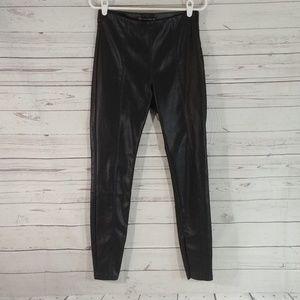 Zara Tarafluc Collection Faux Leather Pants sz L